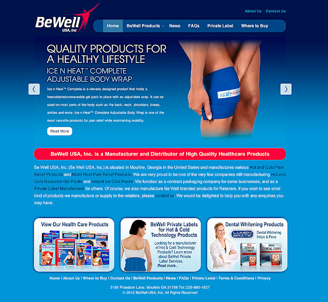 BeWell USA web site