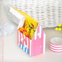 printable beach hut box