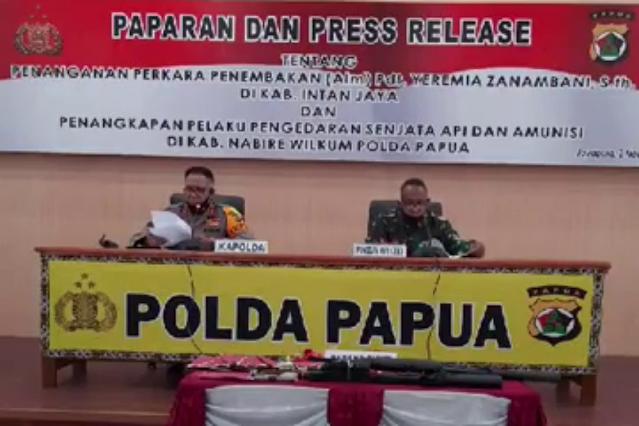 Paulus Waterpauw Ungkap 3 Tersangka Penjual Senjata Api ke Kelompok Separatis di Papua