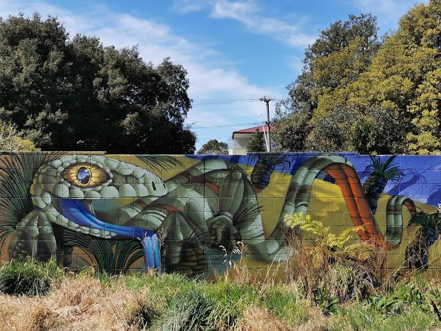 Katoomba Street Art   Mahtous