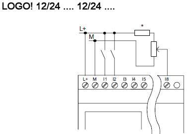 Lógica & Control: Entradas analógicas en modulo central LOGO!