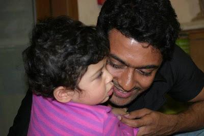 Surya with Diya
