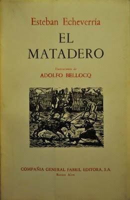 """Portada de """"El Matadero"""" de Esteban Echeverría"""