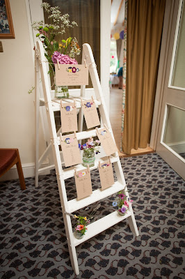 Vintage Ladder for hire weddings dorset hampshire