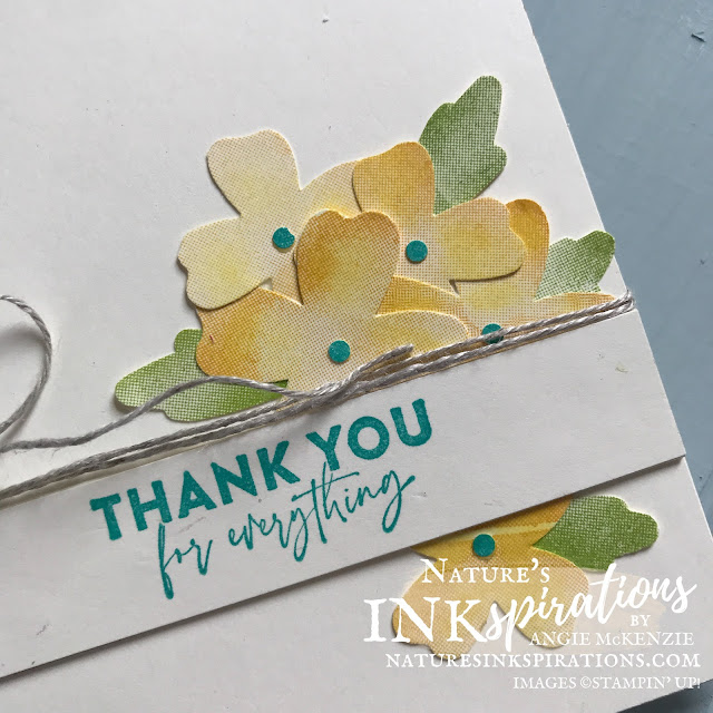 By Angie McKenzie for Casually Crafting Design Team Blog Hop; Click READ or VISIT to go to my blog for details! Featuring the Flowers of Friendship Bundle and the Watercolor Shapes Photopolymer Stamp Set by Stampin' Up!® to create some simple cards using stamps, ink, paper and punches; #stampinup #cardtechniques #cardmaking #flowersoffriendshipbundle #flowersoffriendshipstampset #watercolorshapesstampset #flowersandleavespunch #labelmefancypunch #stampingtechniques #stampinupcolorcoordination #casuallycraftingdesignteambloghop #naturesinkspirations #diycards #handmadecards