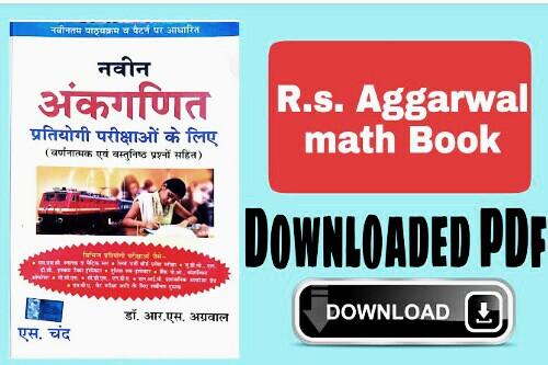 R.S aggarwal math book pdf download