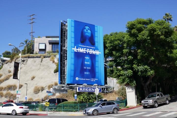Limetown series launch billboard