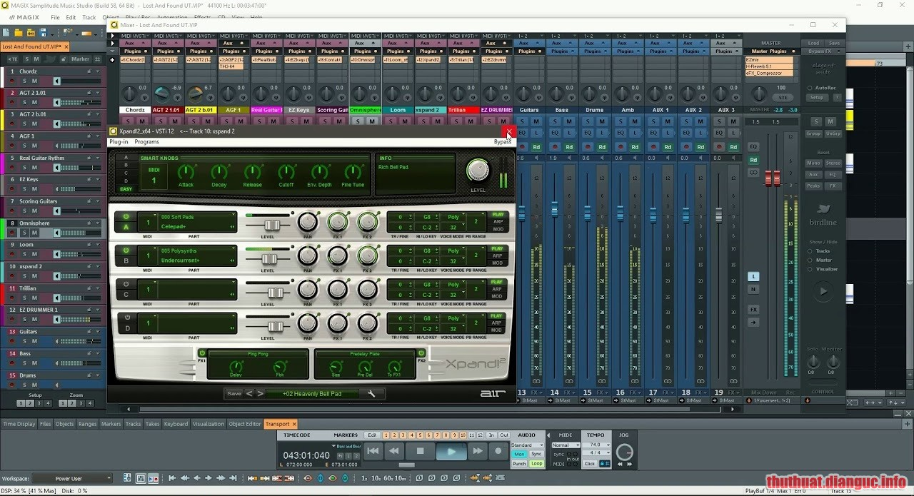 Download MAGIX Samplitude Music Studio 2020 v25.0.0.32 Full Crack