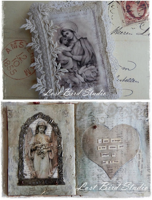 journals by Marie of Lost Bird Studio