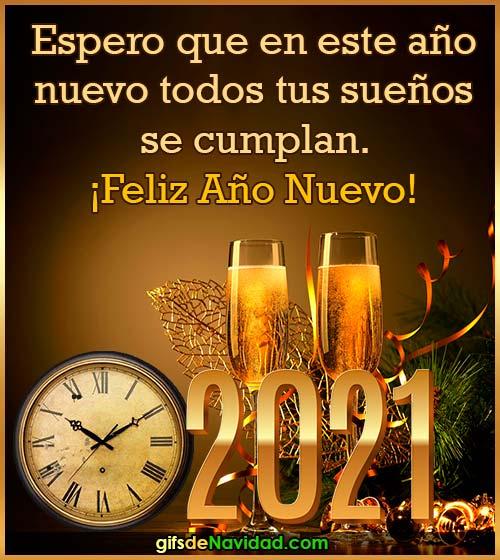 frase de feliz año nuevo 2021