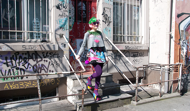 streetstyle, quirky blogger, celia b