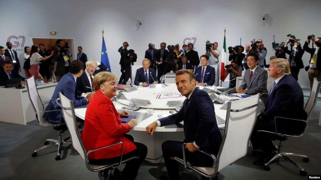 La cumbre del G7, que se celebró del 24 al 26 de agosto de 2019 en Francia, culmina tras abordar temas como el clima, la transformación digital, la disputa comercial entre EE.UU. y China y el encendio en el Amazonas.
