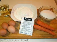 Bizcocho de Zanahoria Fácil