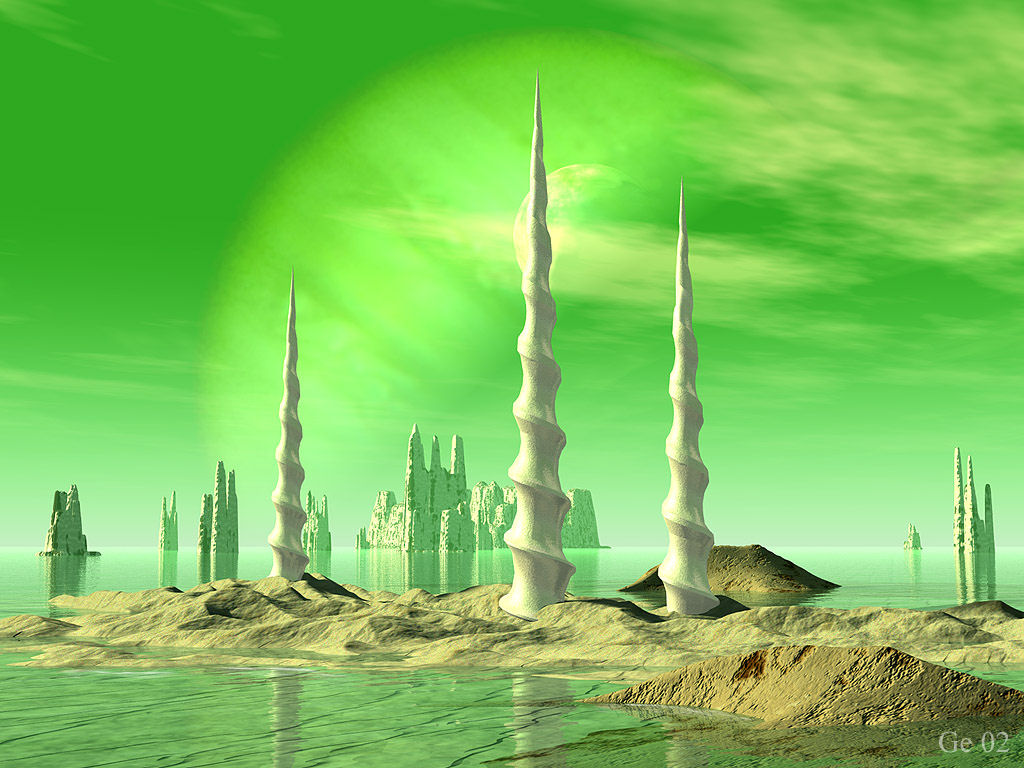 Free Sci Fi Fantasy Desktop Wallpaper: Science Fiction Wallpaper, Science Fiction Wallpapers