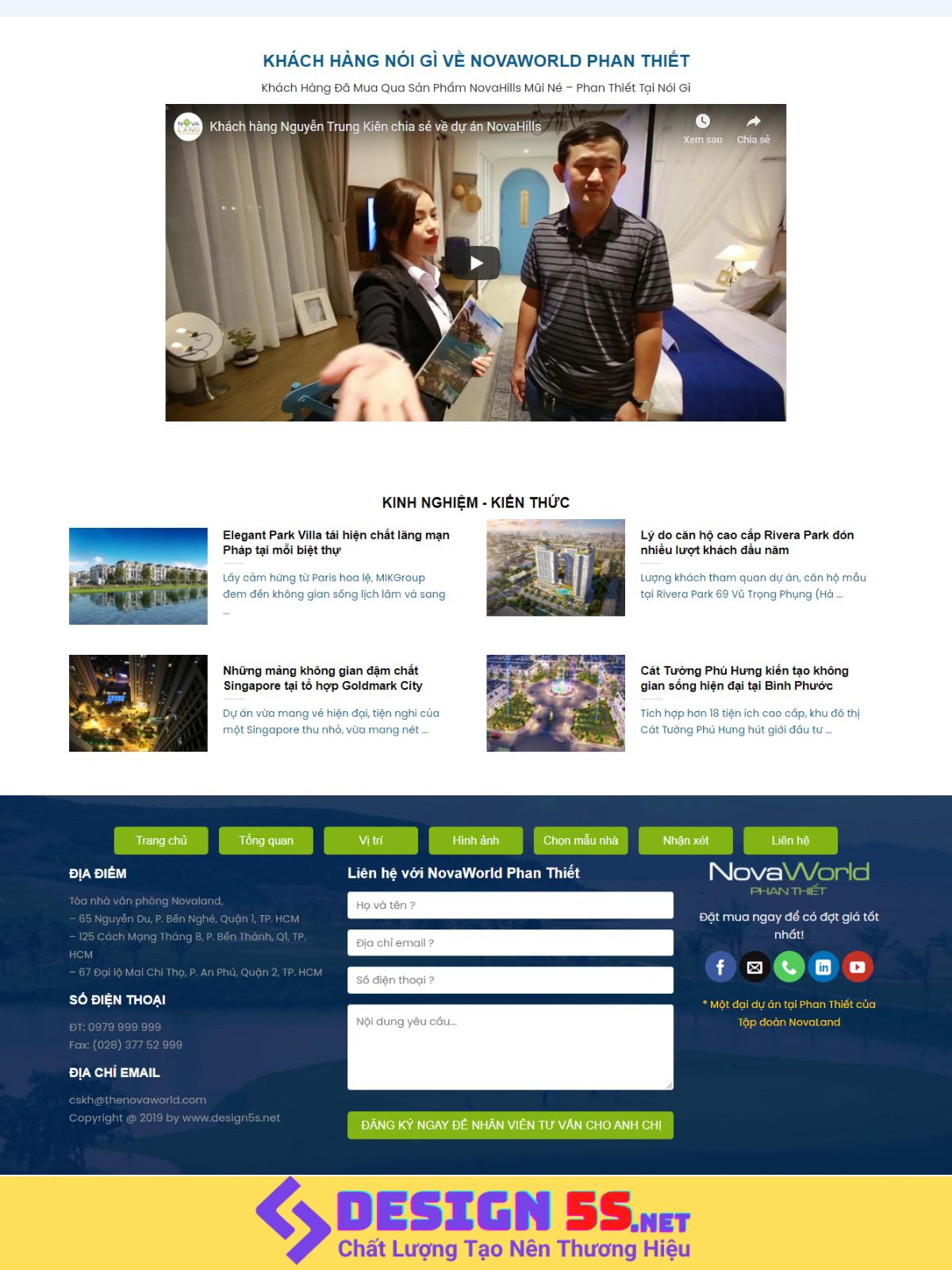 Theme blogspot bất động sản NovaWorld,VSM90 - Ảnh 2