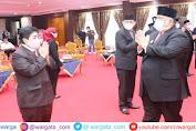 Gubernur Sultra Lantik Sejumlah Pejabat Pimpinan di Lingkup Pemprov