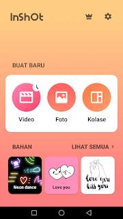 Cara edit video menggunakan aplikasi Inshot di Android