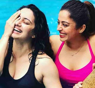 Shruti Marathe With Neha Pendse