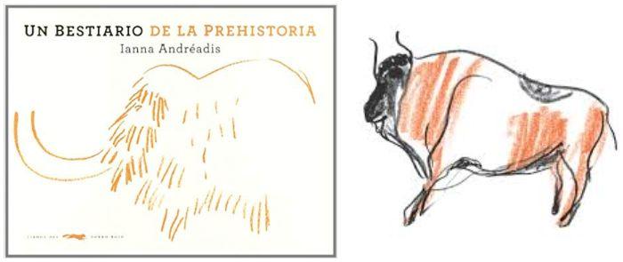 Libro informativo Un bestiario de la prehistoria