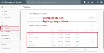 setting webmaster