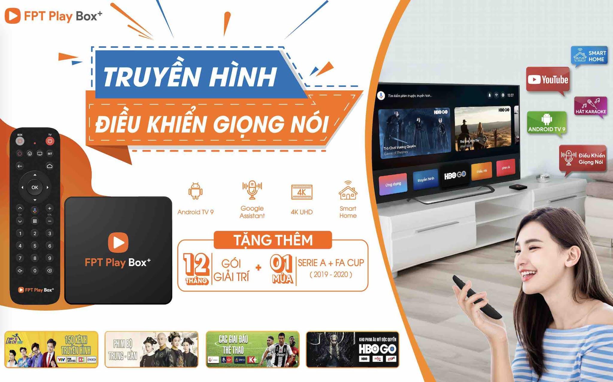 Xem truyền hình Bến Tre miễn phí qua FPT Play BOX 2021