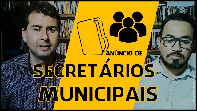 Ruben anúncia no Café com Política novos Secretários Municipais