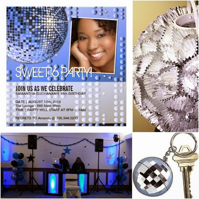 Disco Fever Sweet Fifteen Quinceanera Theme Quince Candles