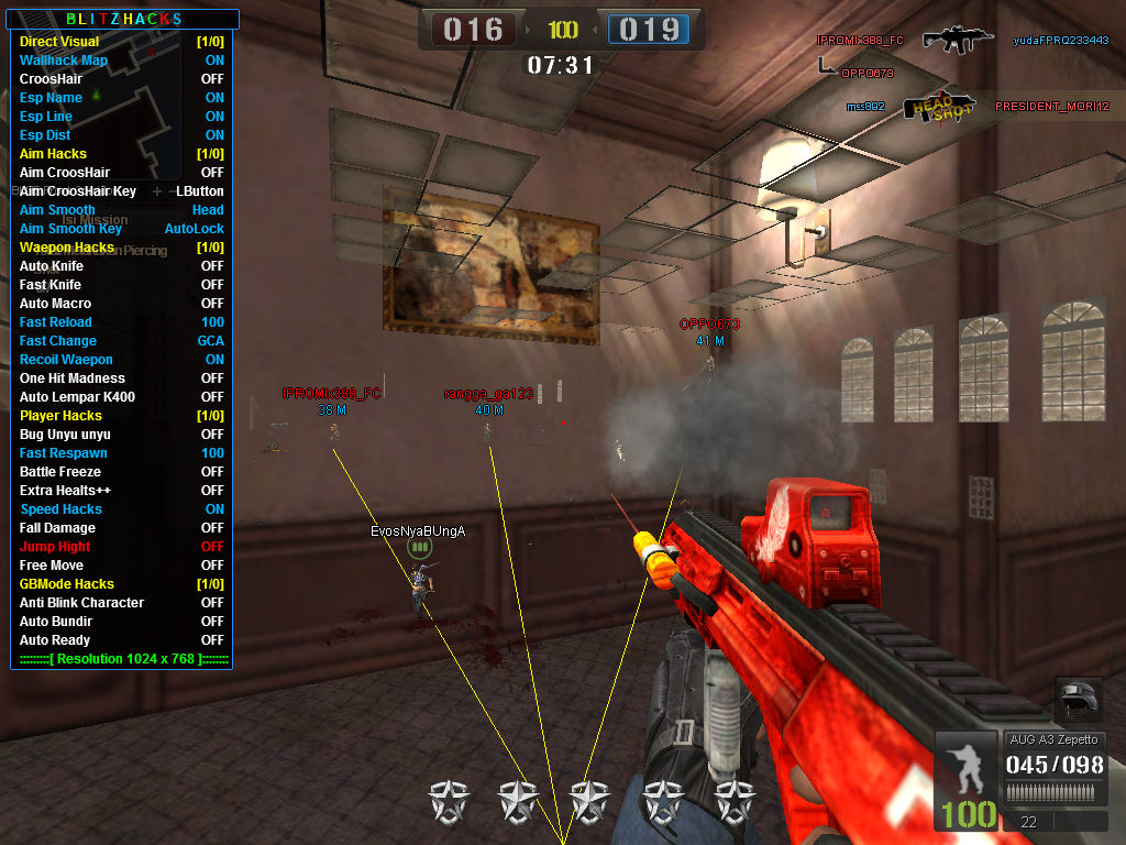 Update New Cheat Point Blank Vip Beyond Limits 20 Mei 2019