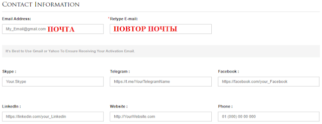 Как зарегистрироваться в хайпе govbid