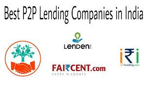 best p2p lending companies in india, peer t0 peer lending in india