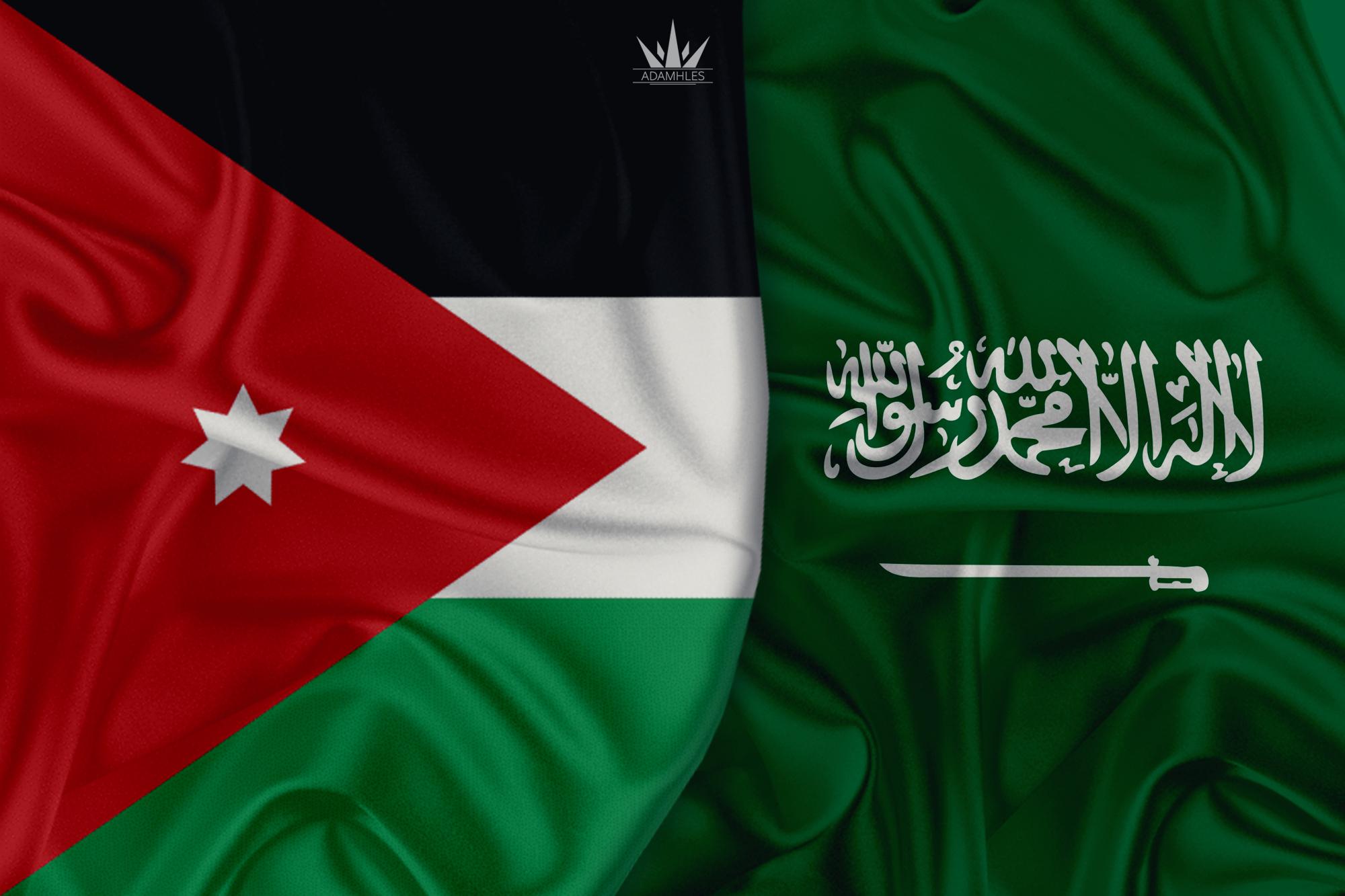 خلفية علم السعودية والاردن اجمل خلفيات العلم السعودي والعلم الاردني Jordan and Saudi Arabia