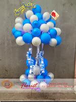 balon ucapan selamat, rangkaian balon ulang tahun, baby born gift, toko bunga di jakarta, bunga peresmian kantor