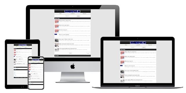 ZorexFox Mobile Premium Blogger Template [Free]