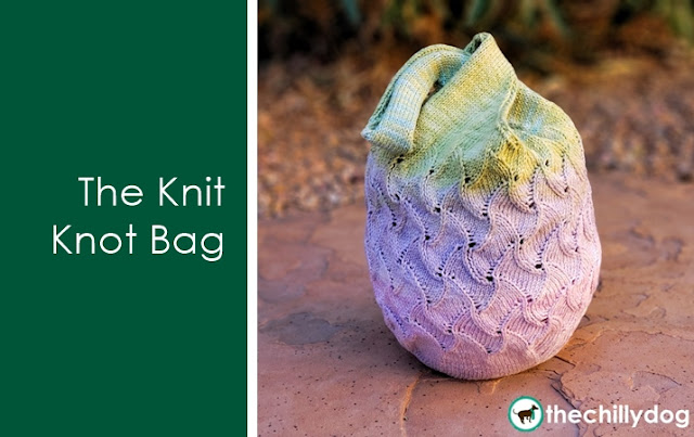 The Knit Knot Bag: Learn new skills while you knit a Japanese knot bag