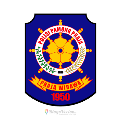 Polisi Pamong Praja Logo Vector