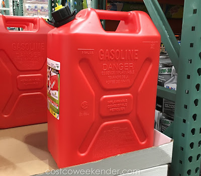 Scepter 5.3 Gallon Gas Can - Store gas the right way