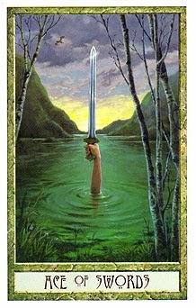 Resultado de imagem para ace of swords tarot