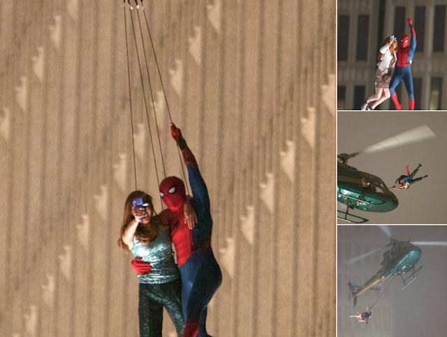 Nuevas imágenes de Spider-Man: Homecoming, ¿por fin vemos a Mary Jane?
