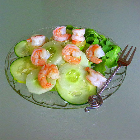 One Perfect Bite: Sunomono - An Easy Japanese Vinegar Salad
