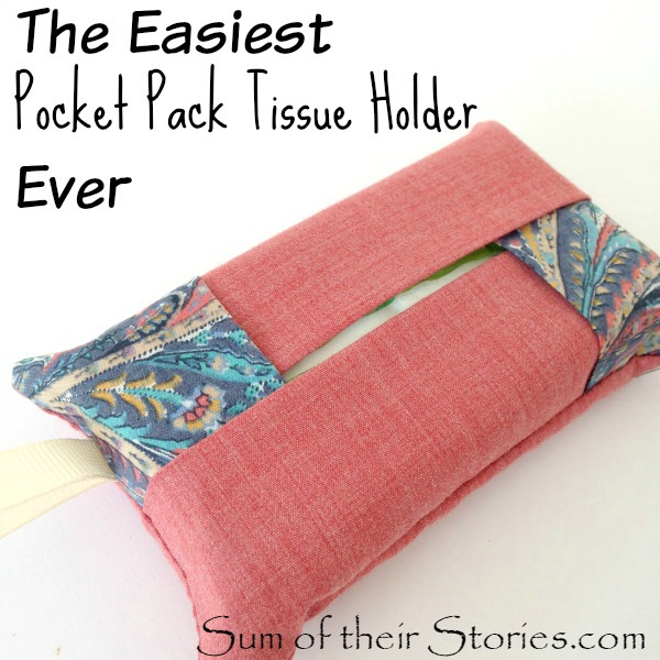 Easiest Pocket Pack Tissue Holder Ever