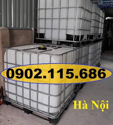 N4%2B%25281%2529 Tank nhựa IBC cũ, tank đựng hóa chất 1000l, tank đựng nước công trình 1000l, tank đựng xăn