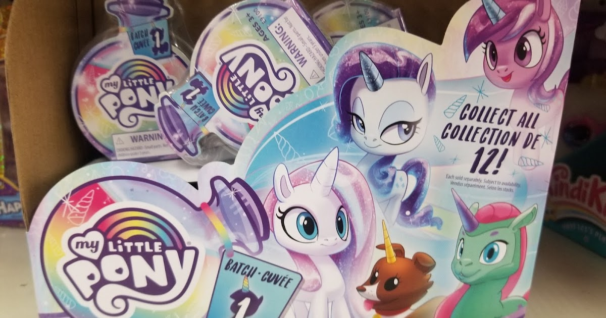 MLP Potion Blind Bags Opalesence My Little Pony Figure Gray