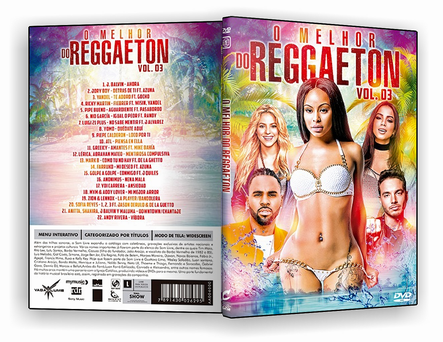 DVD - O Melhor do Reggaeton Vol.3 - ISO