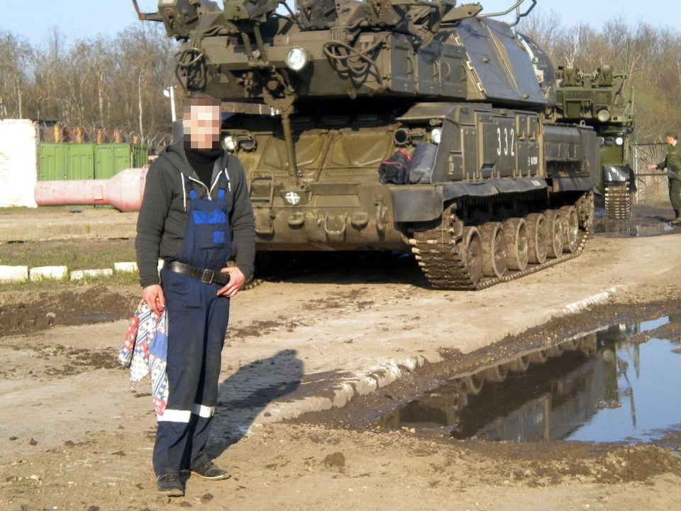 Ukrainian Military Pages - Pre-MH17 Photograph of Buk 332 Discovered