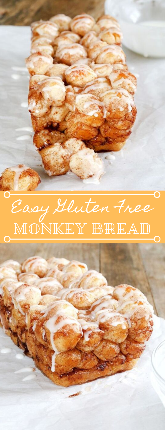 Super Easy Gluten Free Monkey Bread #easy #glutenfree #desserts #cakes #recipes