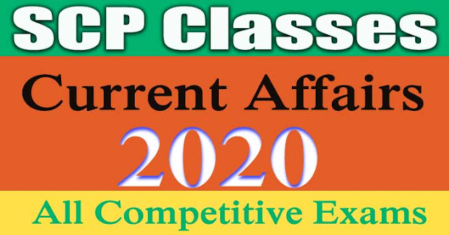 Current Affairs 2020 | Questions and Answers In Hindi.