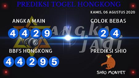 Prediksi Angka Jitu Togel Hongkong Kamis 06 Agustus 2020