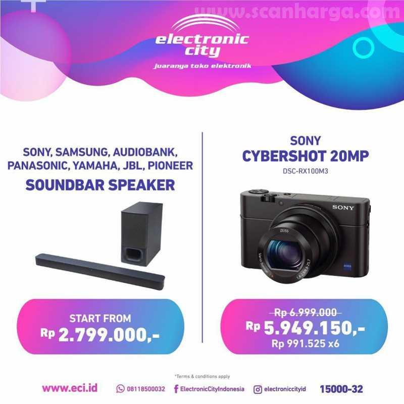 Promo Electronic City Of The Week Periode 3 - 9 Juli 2020 2