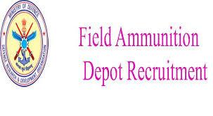 Field Ammunition Depot Recruitment