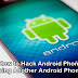 How to Hack Android Phone Using Another Android Phone?